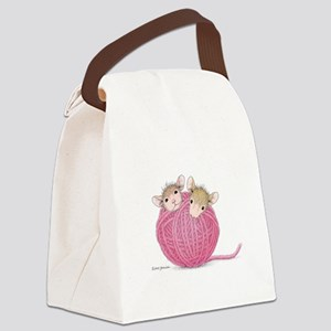 Close Knit Friendship Canvas Lunch Bag