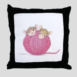 Close Knit Friendship Throw Pillow