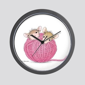 Close Knit Friendship Wall Clock