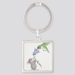 Helping Hand Square Keychain