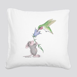 Helping Hand Square Canvas Pillow