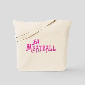 Lil Meatball Tote Bag