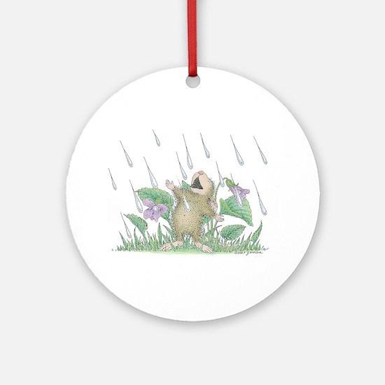 Singing in the Rain Ornament (Round)