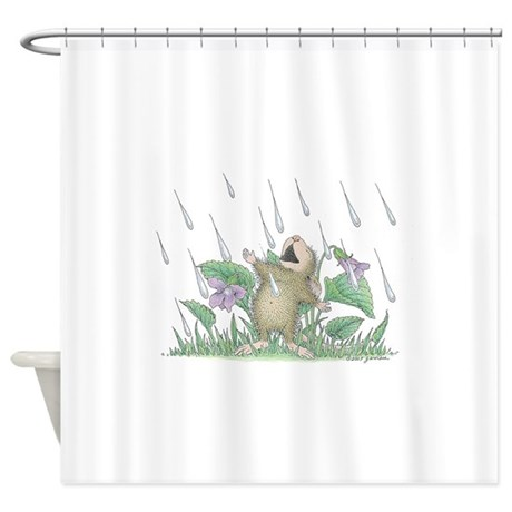 Singing In The Rain Shower Curtain By HouseMouseDesigns