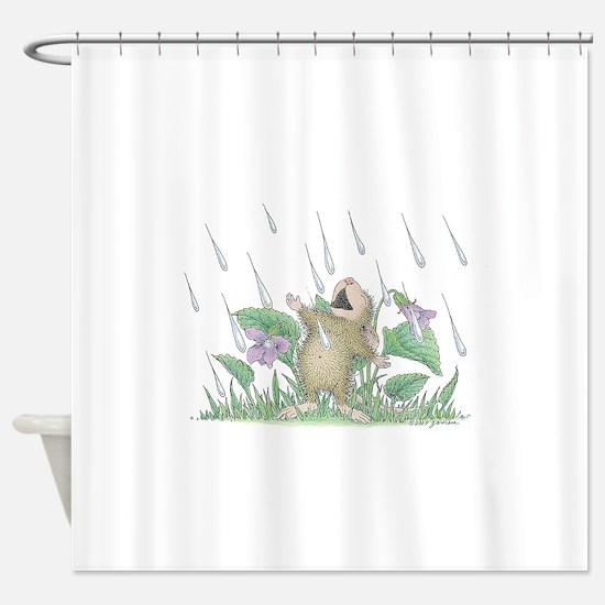 Singing in the Rain Shower Curtain
