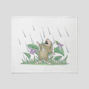 Singing in the Rain Throw Blanket
