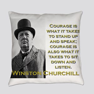 Courage Is What It Takes - Churchill Everyday Pill