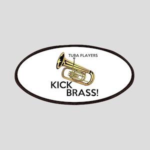 Tuba Players Kick Brass Patches
