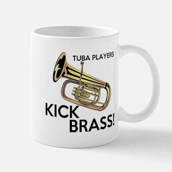 Tuba Players Kick Brass Mug