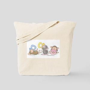 Mice Babies Tote Bag