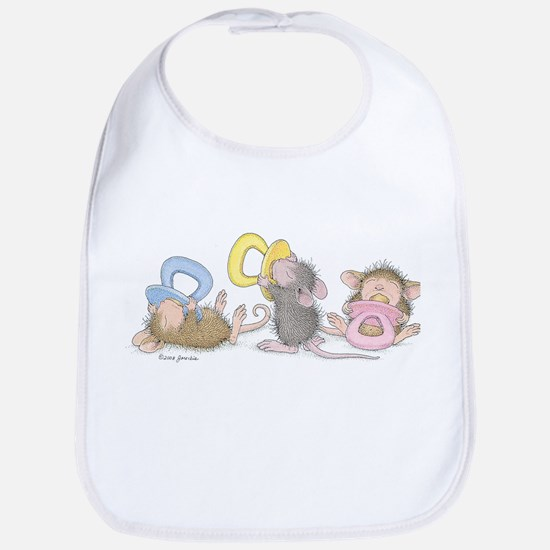 Mice Babies Bib