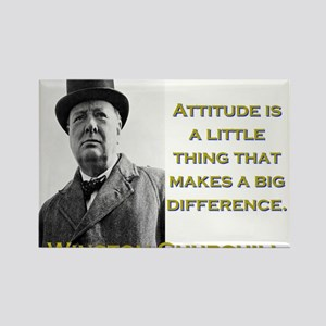 Attitude Is A Little Thing - Churchill Magnets