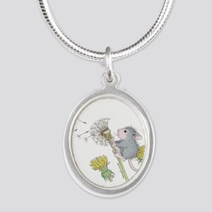 Just Dandy Silver Oval Necklace