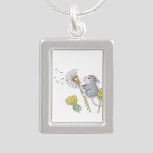Just Dandy Silver Portrait Necklace