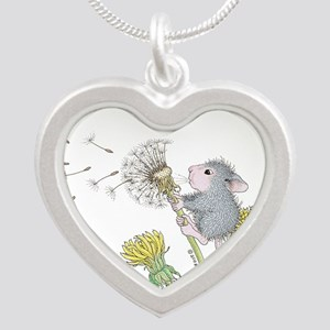 Just Dandy Silver Heart Necklace