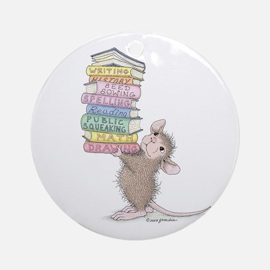 Smarty Pants Ornament (Round)