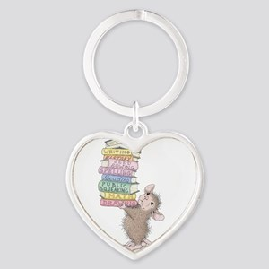 Smarty Pants Heart Keychain