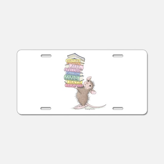 Smarty Pants Aluminum License Plate