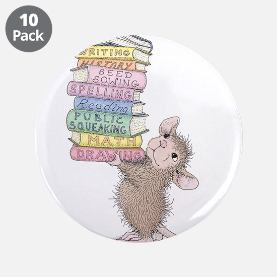 "Smarty Pants 3.5"" Button (10 pack)"