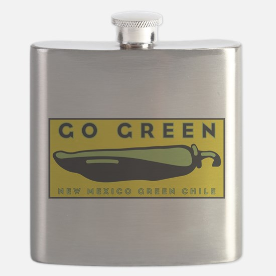 Go Green: New Mexico Green Chile Flask