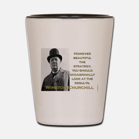 However Beautiful The Strategy - Churchill Shot Gl