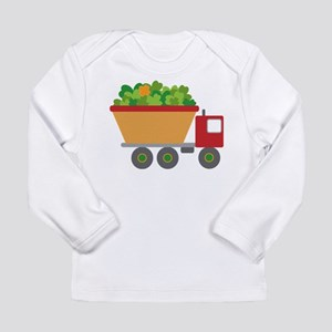 st patricks day dump truck Long Sleeve T-Shirt