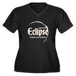 Personalize Eclipse 2017 Plus Size T-Shirt