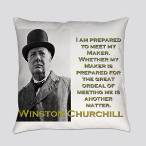 I Am Prepared To Meet My Maker - Churchill Everyda