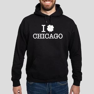 I Shamrock Chicago Hoodie (dark)