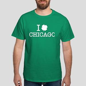 I Shamrock Chicago Dark T-Shirt