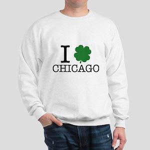 I Shamrock Chicago Sweatshirt