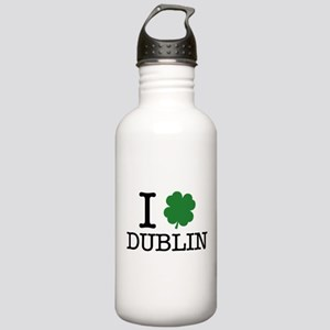 I Shamrock Dublin Stainless Water Bottle 1.0L