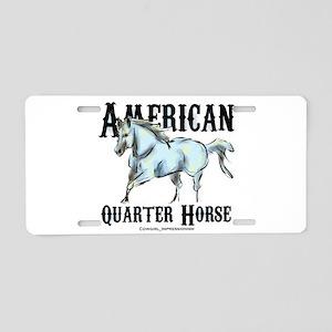 American Quarter Horse Aluminum License Plate
