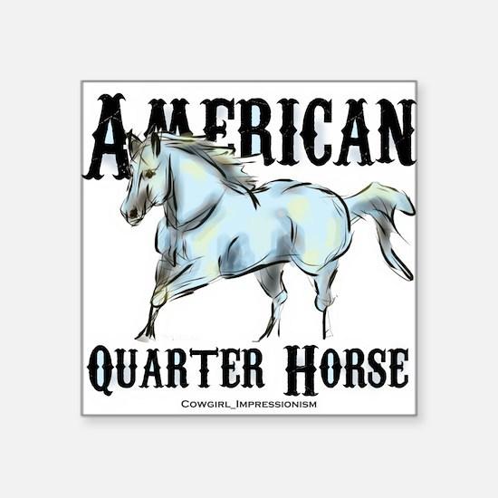 American Quarter Horse Sticker