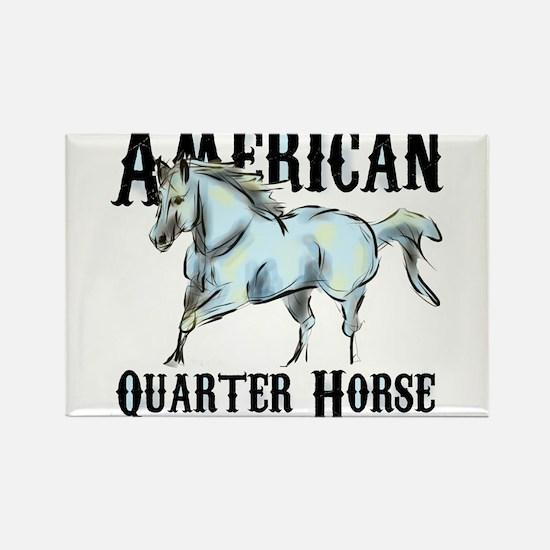 American Quarter Horse Rectangle Magnet