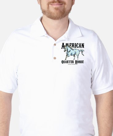American Quarter Horse Golf Shirt