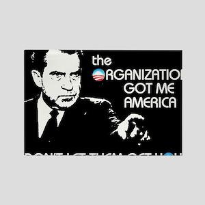 Nixon Now Rectangle Magnet