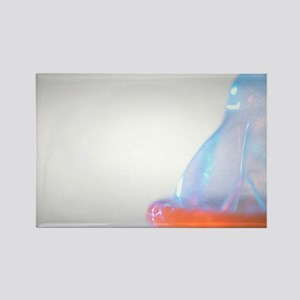 Condom - Rectangle Magnet (10 pk)