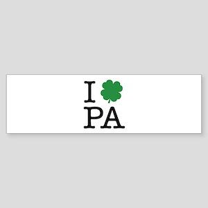 I Shamrock PA Sticker (Bumper)