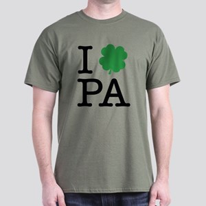 I Shamrock PA Dark T-Shirt