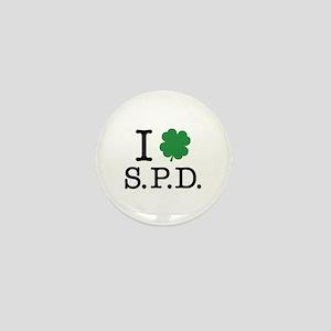 I Shamrock S.P.D. Mini Button