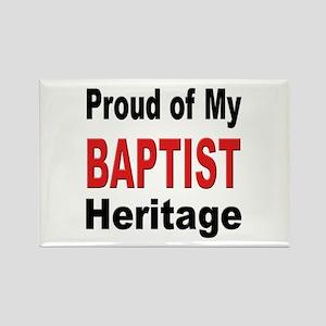 Proud Baptist Heritage Rectangle Magnet