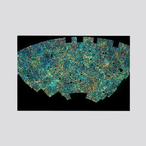 ion of 2 million galaxies - Rectangle Magnet (10 p