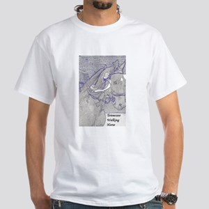 Tennessee Walking Horse White T-Shirt