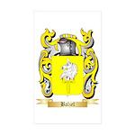 Balzel Sticker (Rectangle 50 pk)