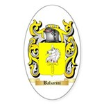 Balzarini Sticker (Oval)