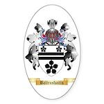 Baltrushaitis Sticker (Oval 50 pk)