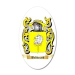 Balthazard 20x12 Oval Wall Decal