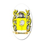 Balthazar 35x21 Oval Wall Decal