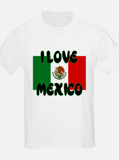 I LOVE MEXICO SHIRT TEE SHIRT Kids T-Shirt
